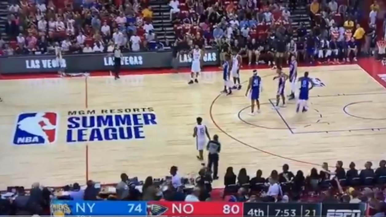Un match de NBA Summer League interrompu à cause du tremblement de terre