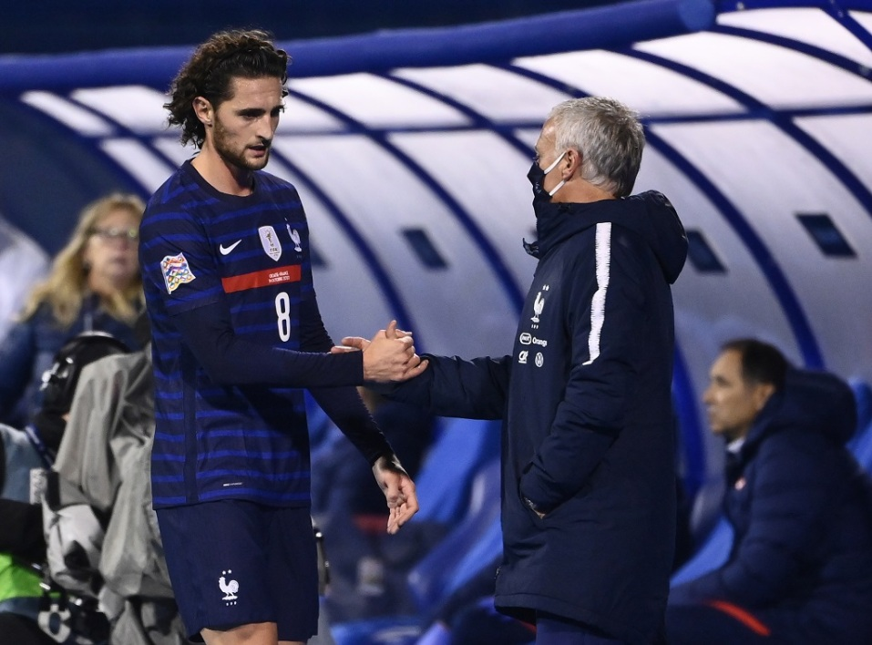 Rabiot et Deschamps