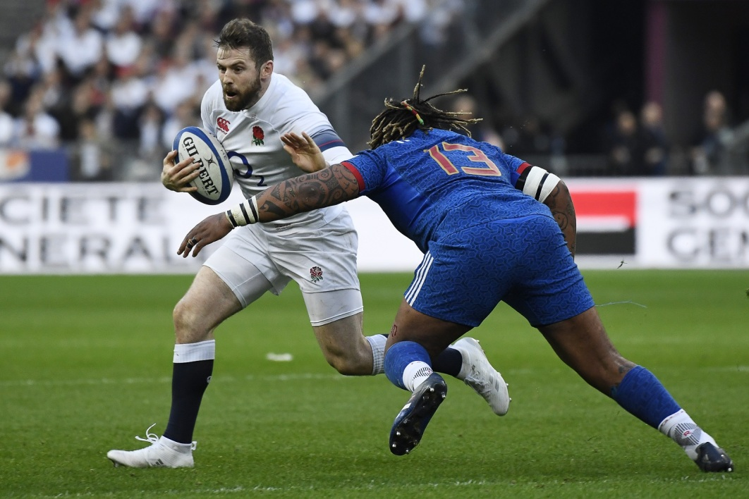 Angleterre-France: Elliot Daly face à Mathieu Bastareaud