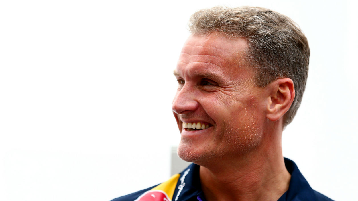 Le pilote et ex-champion de F1 David Coulthard flashé... à 178 km/h
