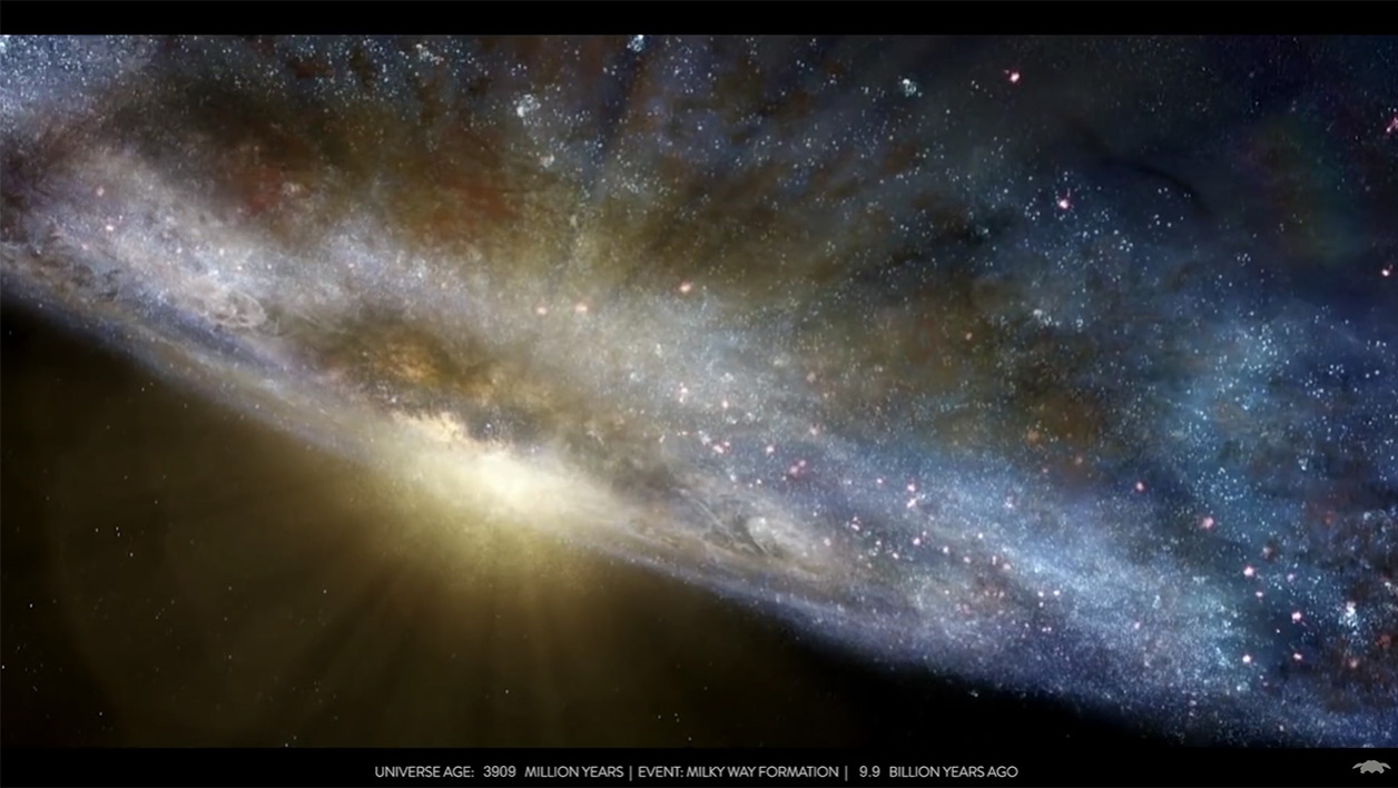 TIMELAPSE OF THE ENTIRE UNIVERSE