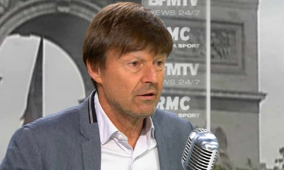 Nicolas Hulot face à Jean-Jacques Bourdin: les tweets de l'interview