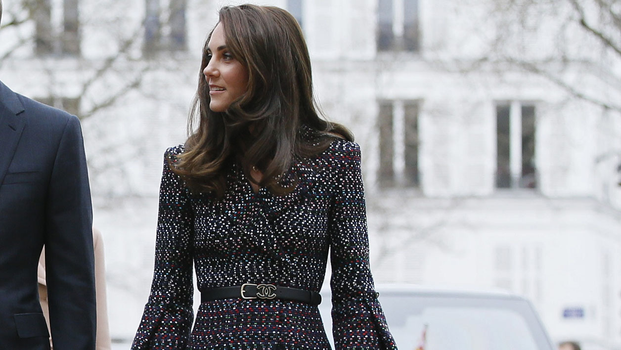 Kate Middleton à Paris le 18 mars 2017