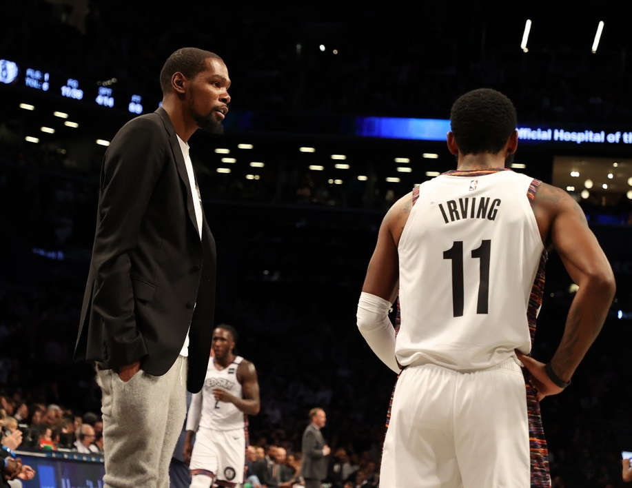 Kevin Durant et Kyrie Irving