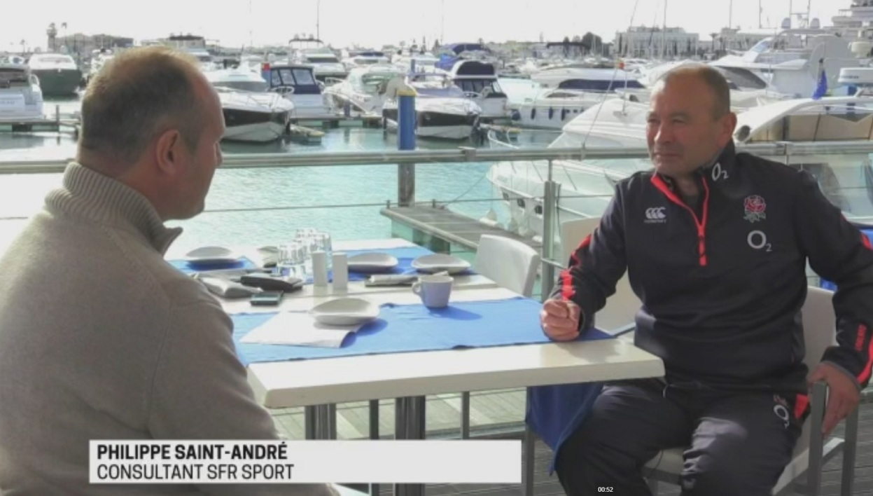 Philippe Saint-André interroge Eddie Jones