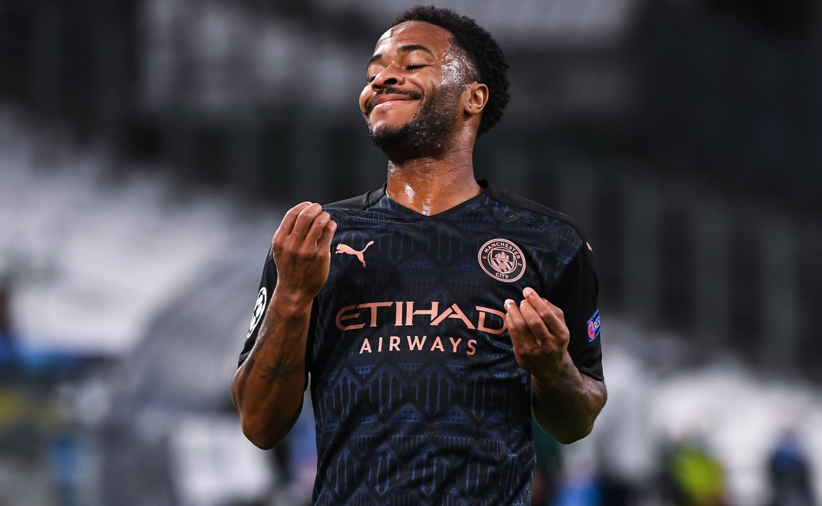 Ligue des champions: Manchester City et Sterling chambrent l'OM