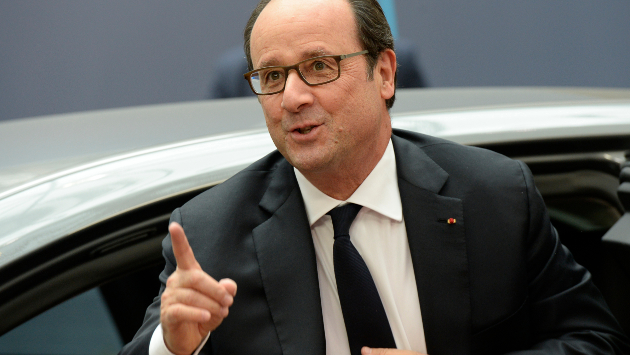 François Hollande, le 20 octobre.