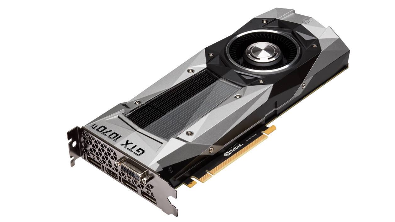 Nvidia GeForce GTX 1070 Ti Founder's Edition
