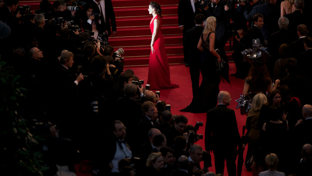 Tapis rouge à Cannes