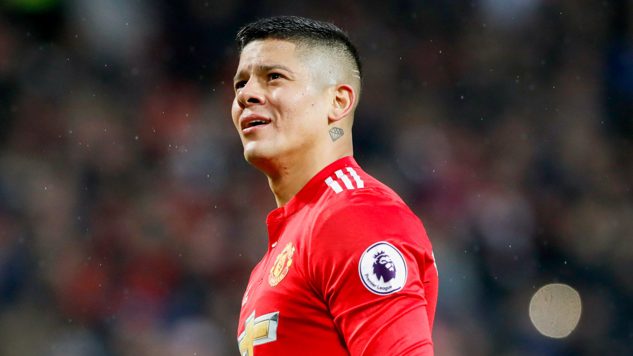 Marcos Rojo à Manchester United