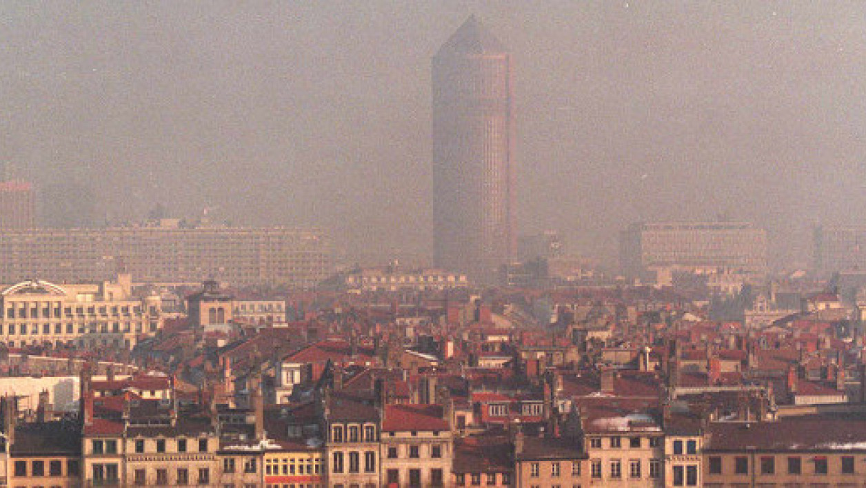 Pollution à Lyon, image d'illustration.
