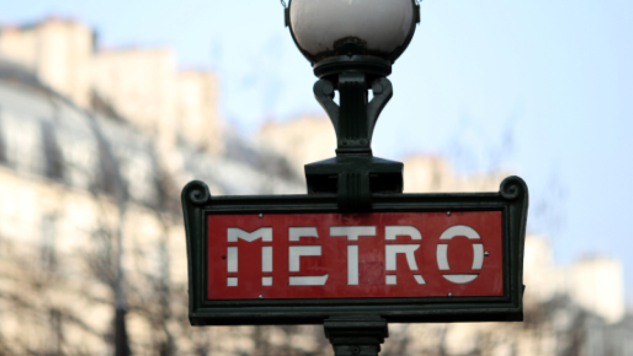 Métro parisien, image d'illustration.