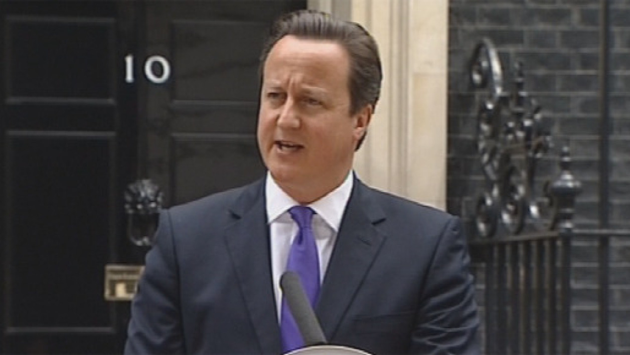 David Cameron, Premier ministre britannique (illustration)