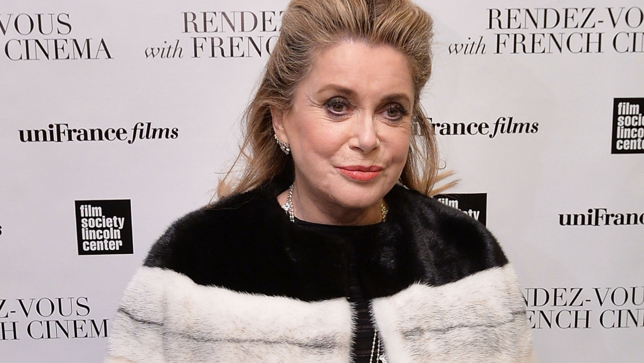 Catherine Deneuve le 6 mars 2014, à New York.