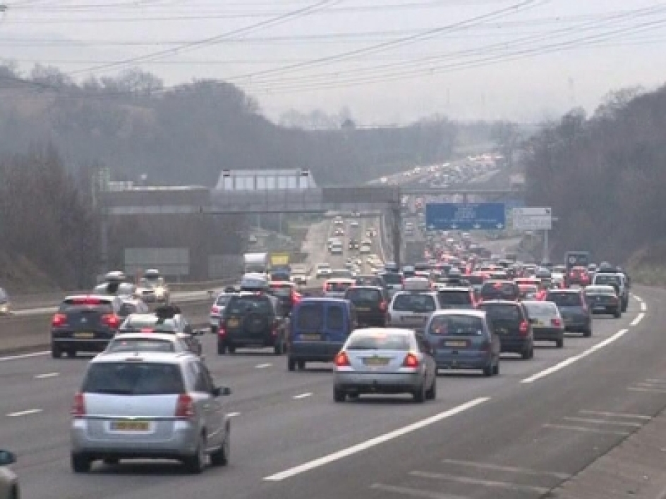 Week-end chargé sur les routes de France