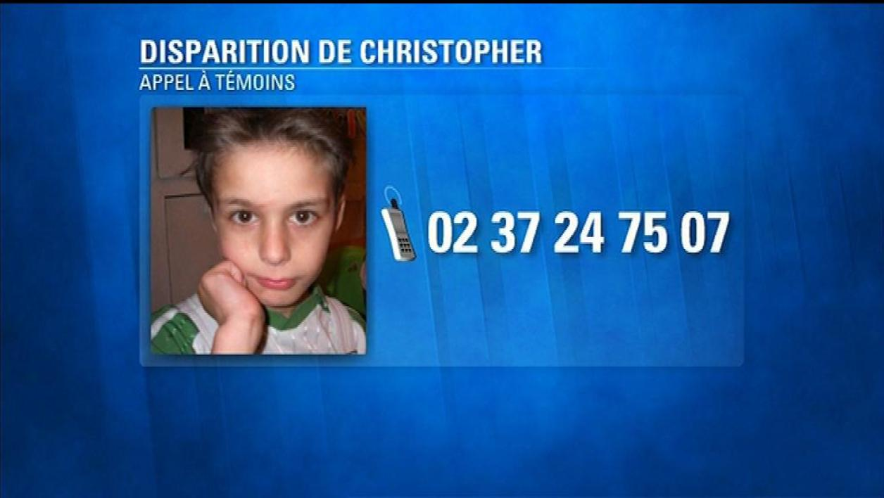 Disparition de Christopher : appel à témoins