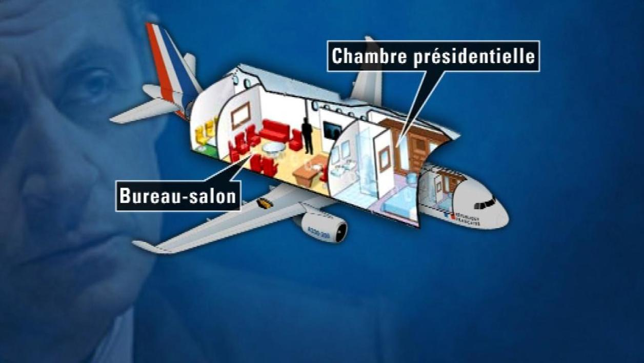 """Air Sarko One"", l'avion présidentiel"
