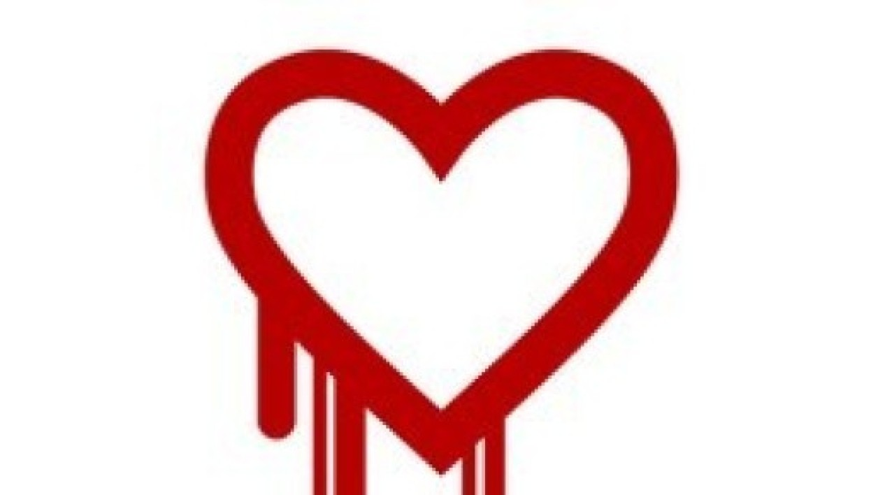 Le symbole de la faille informatique Heartbleed