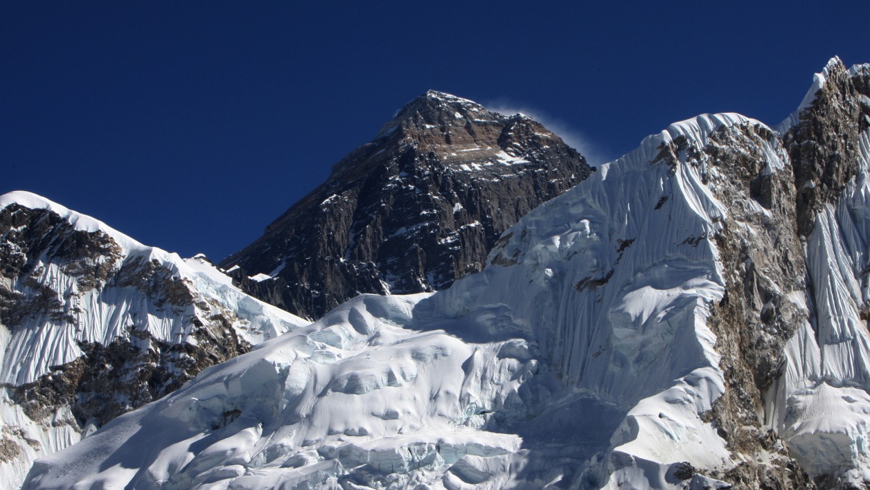 Le sommet de l'Everest, en décembre 2009. (photo d'illustration)