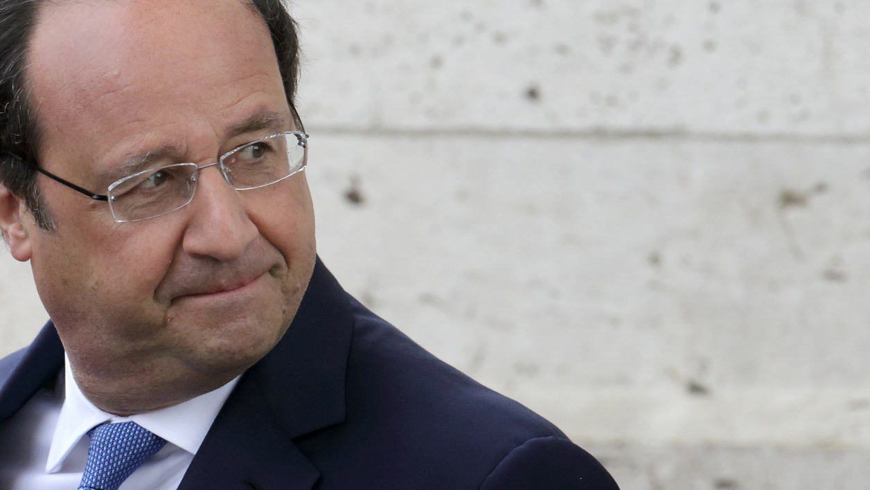 François Hollande, le 8 mai 2014, à Paris.