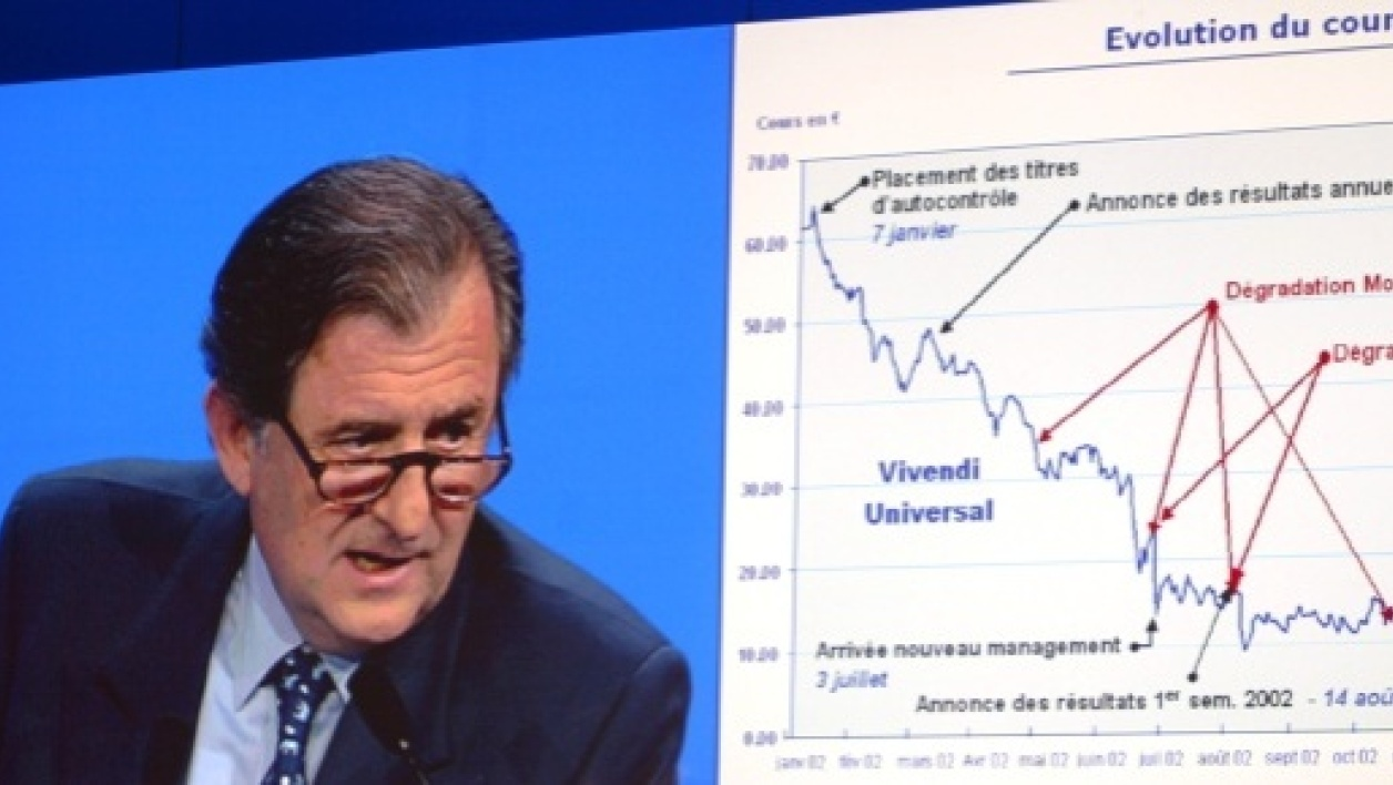 Le patron de Vivendi a gagné un million d'euros en exerçant ses stock options