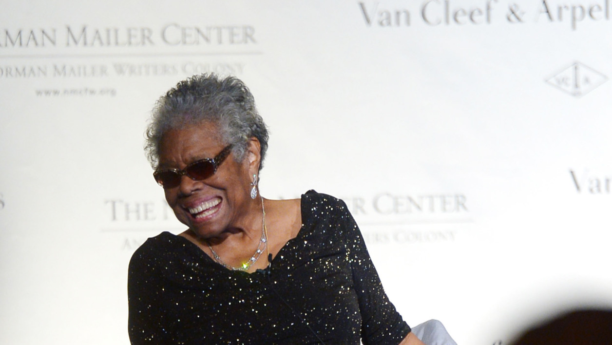Maya Angelou à New York le 17 octobre 2013