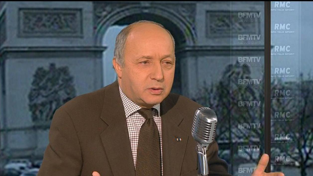 PS : Fabius réagit à la candidature de Royal