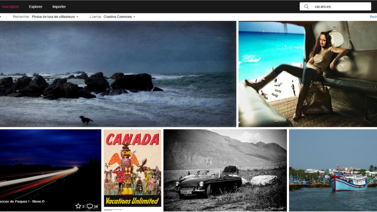 Le site de partage de photos Flickr