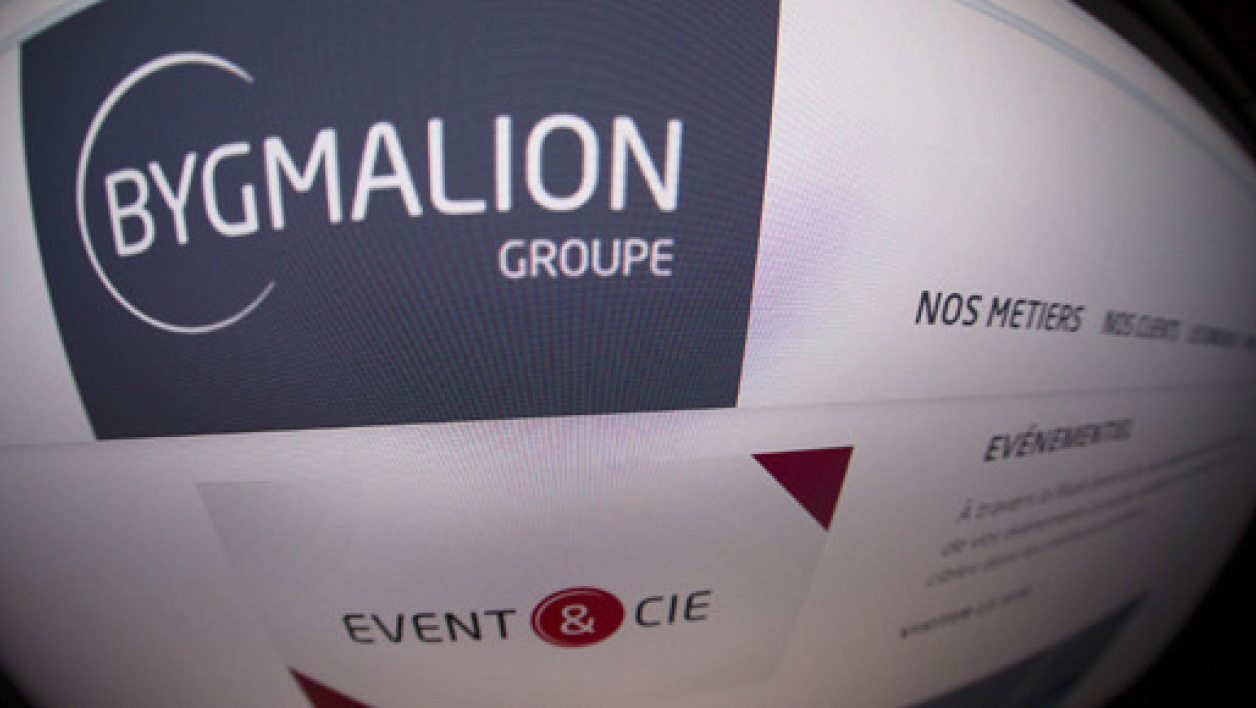 Une photo du site Bygmalion.