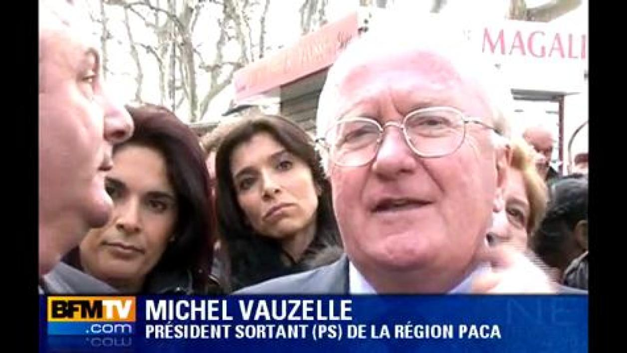 PACA : Vauzelle poursuit son chemin