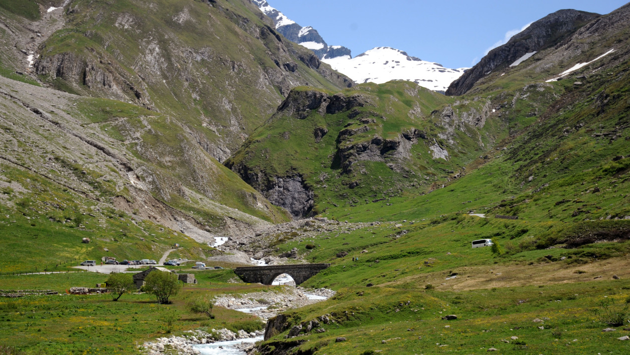 Le parc de la Vanoise (illustration)
