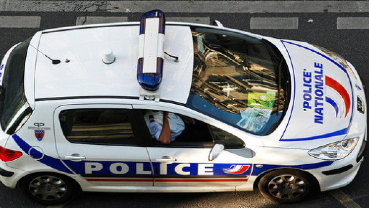Voiture de police (Illustration)