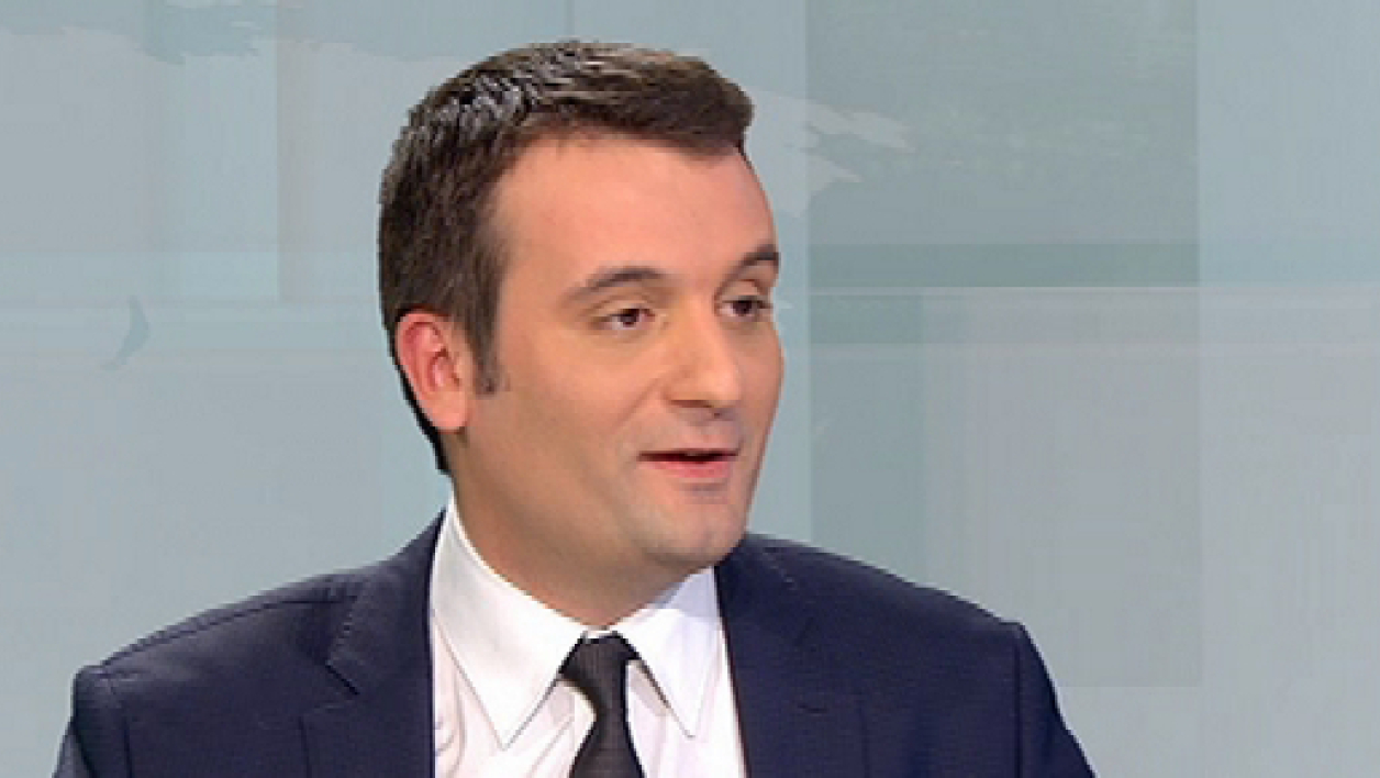 Florian Philippot a réagi aux propos de Manuel Valls (photo d'illustration)