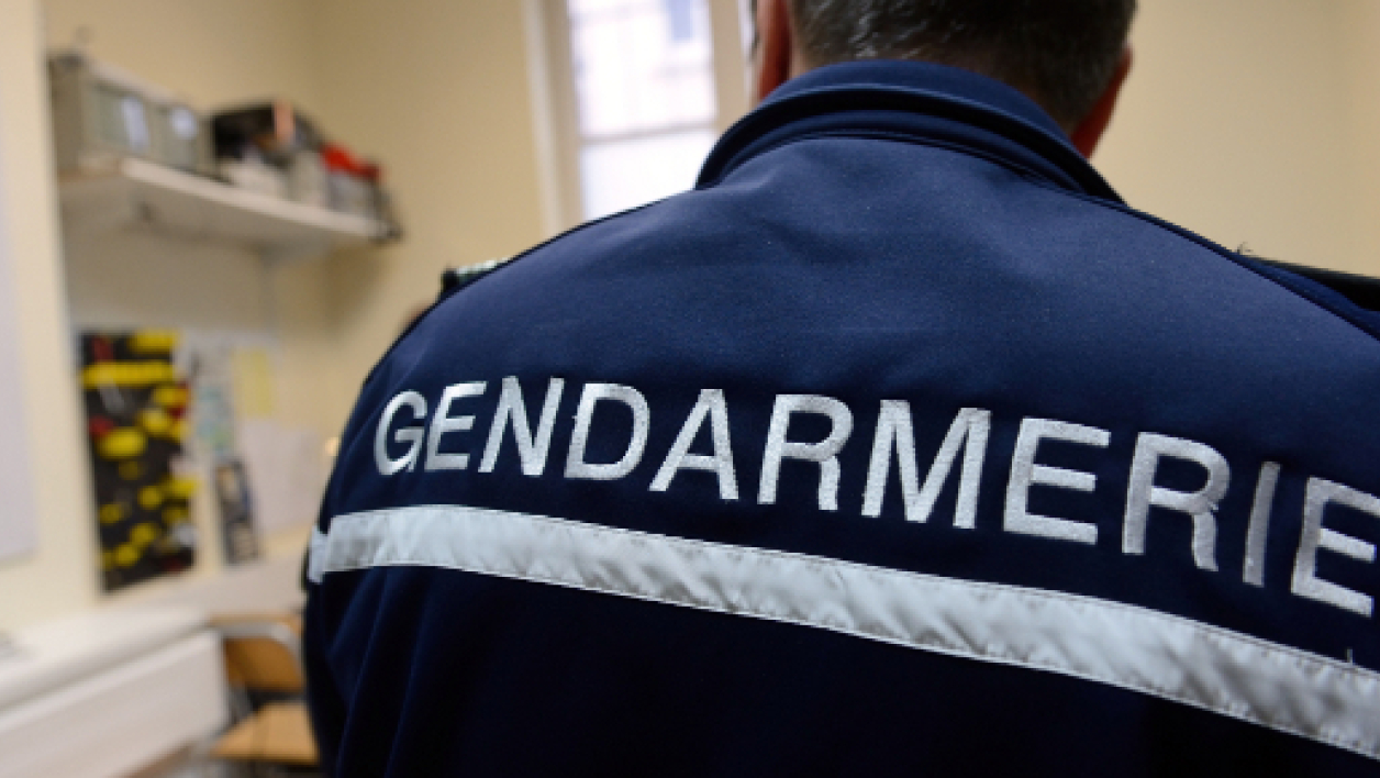 Un gendarme en janvier 2014, à Arras. (photo d'illustration).