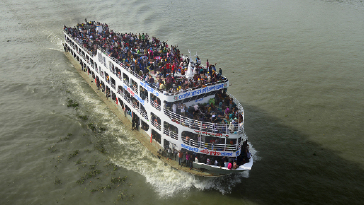 Les accidents de ferry sont fréquents au Bangladesh. Photo d'illustration.