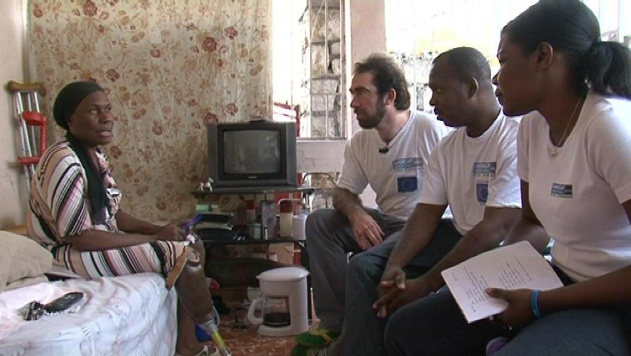 Haïti : Handicap International suit ses patients