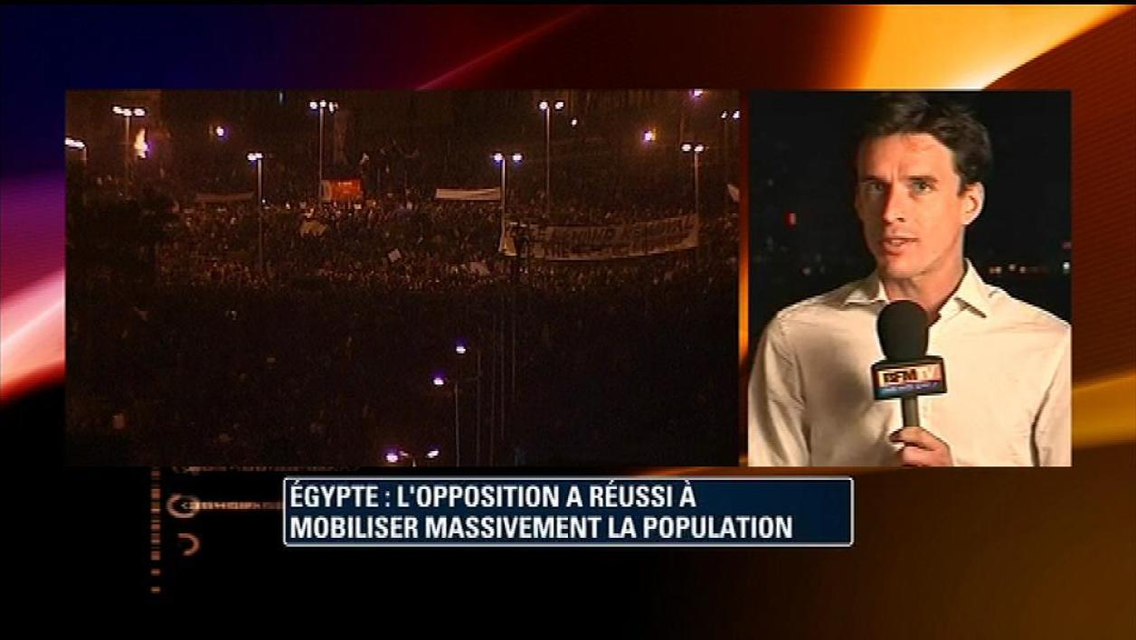 Egypte : plus d'un million de manifestants