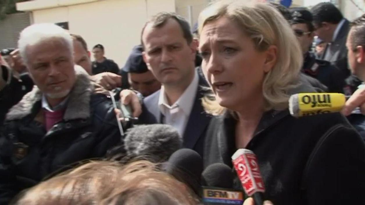 Immigration : Marine Le Pen à Lampedusa