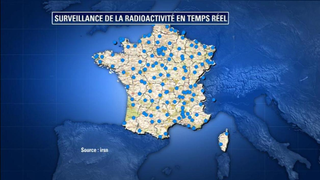 Le nuage radioactif invisible en France