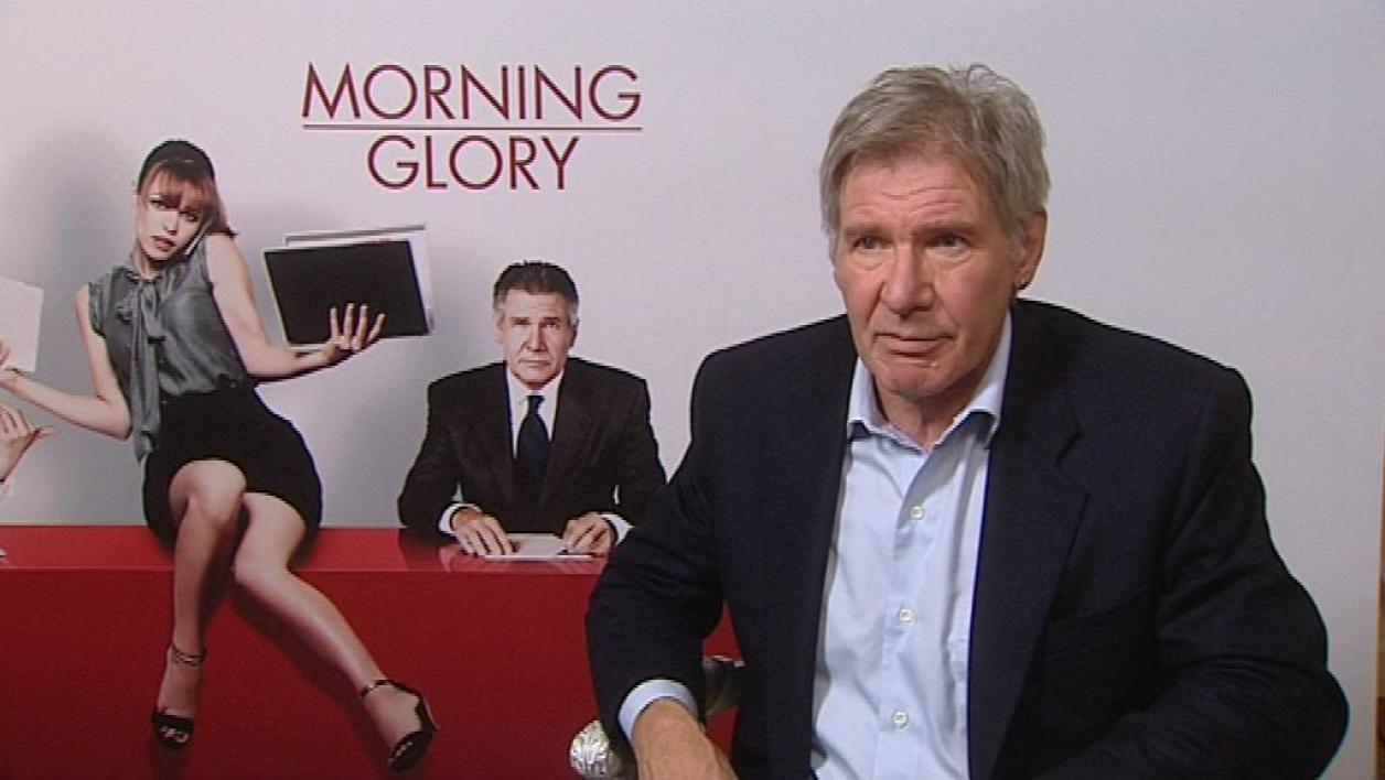 Retour d'Harrison Ford dans Morning Glory