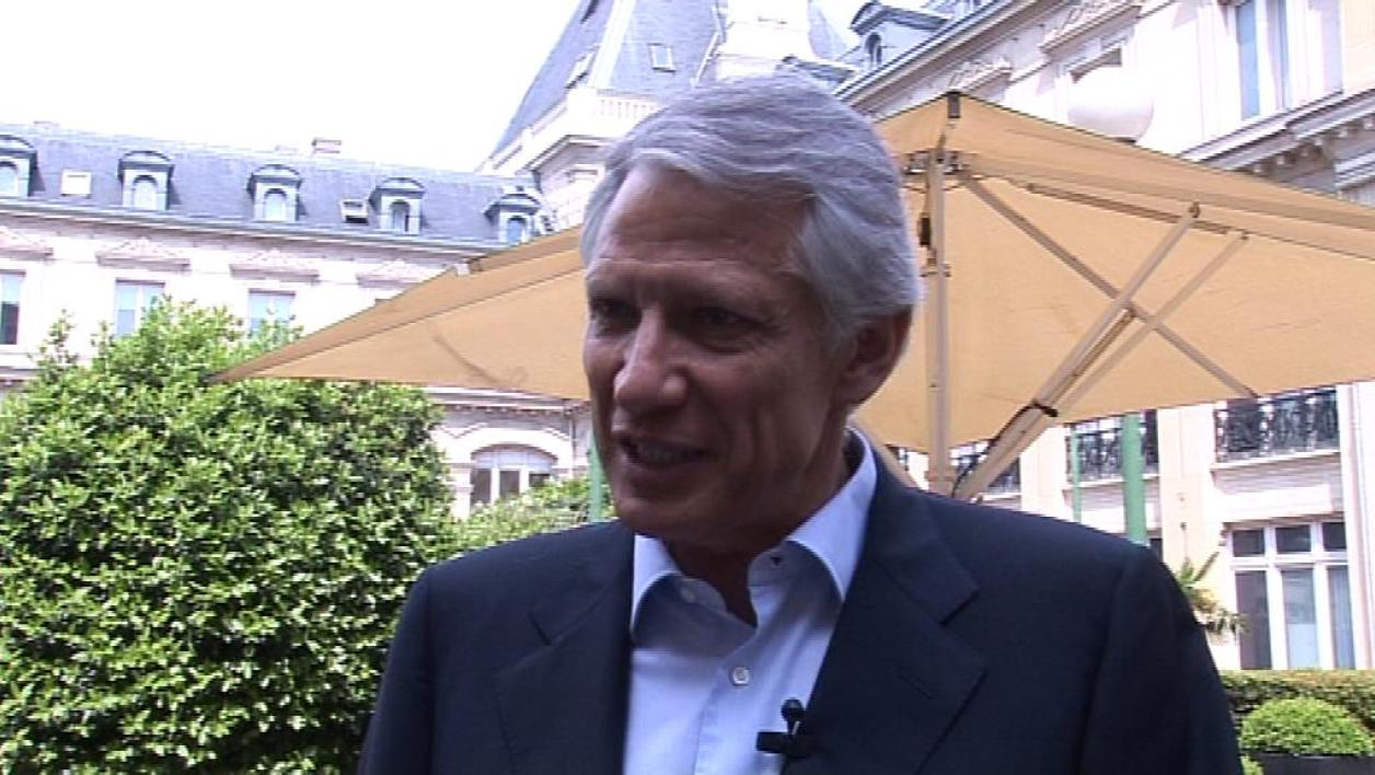 L'avenir politique de D. de Villepin en question