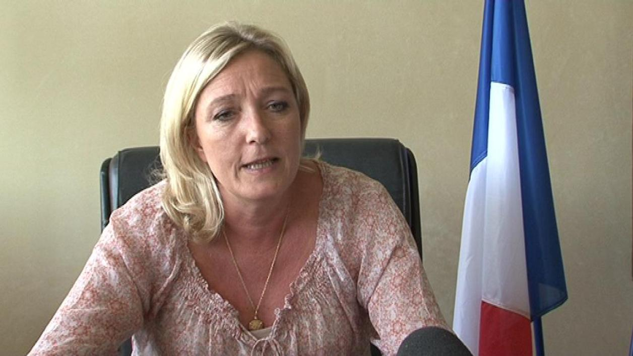 M. Le Pen poursuit en diffamation G. Tron