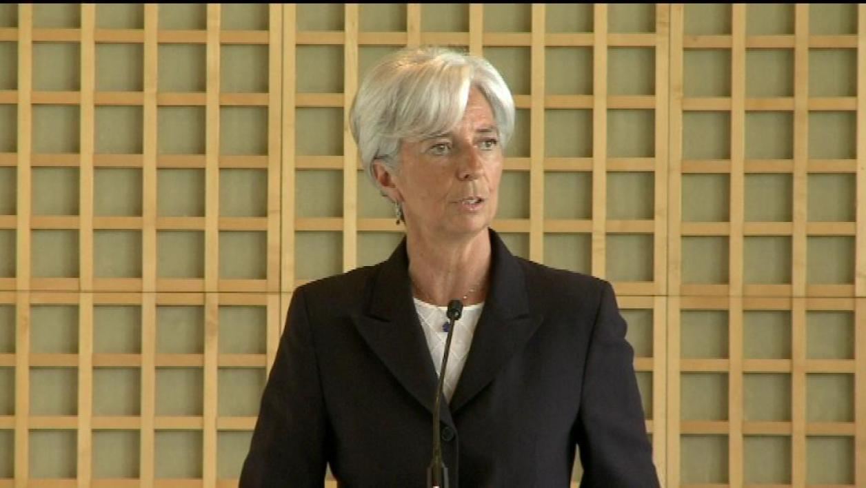Lagarde au FMI : pression de l'Europe sur Obama