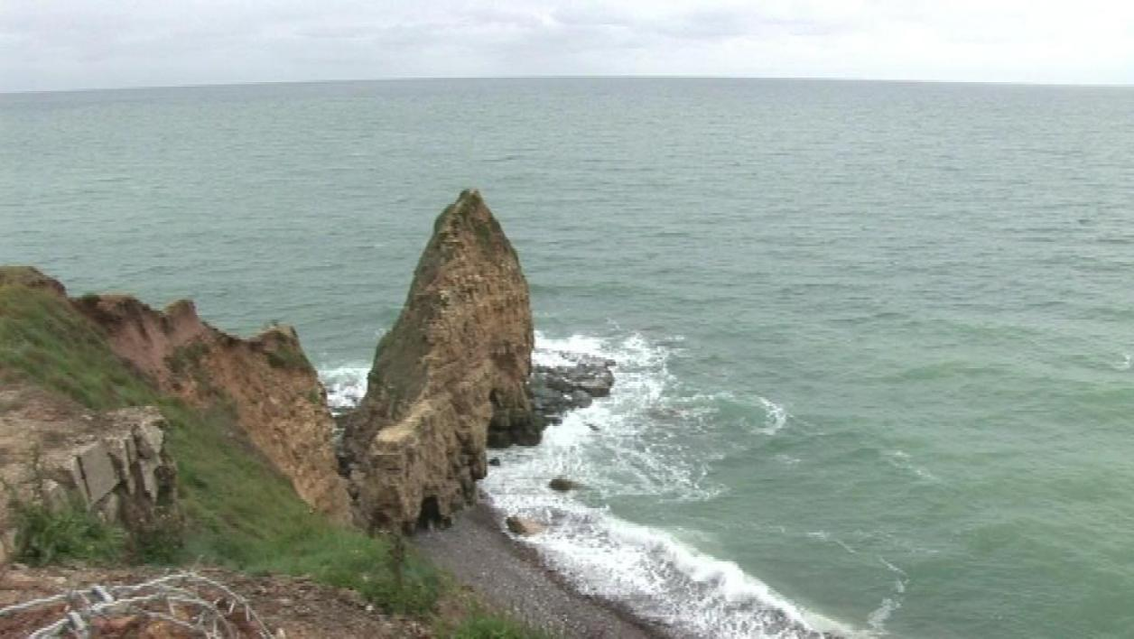 Normandie : rénovation de la pointe du Hoc