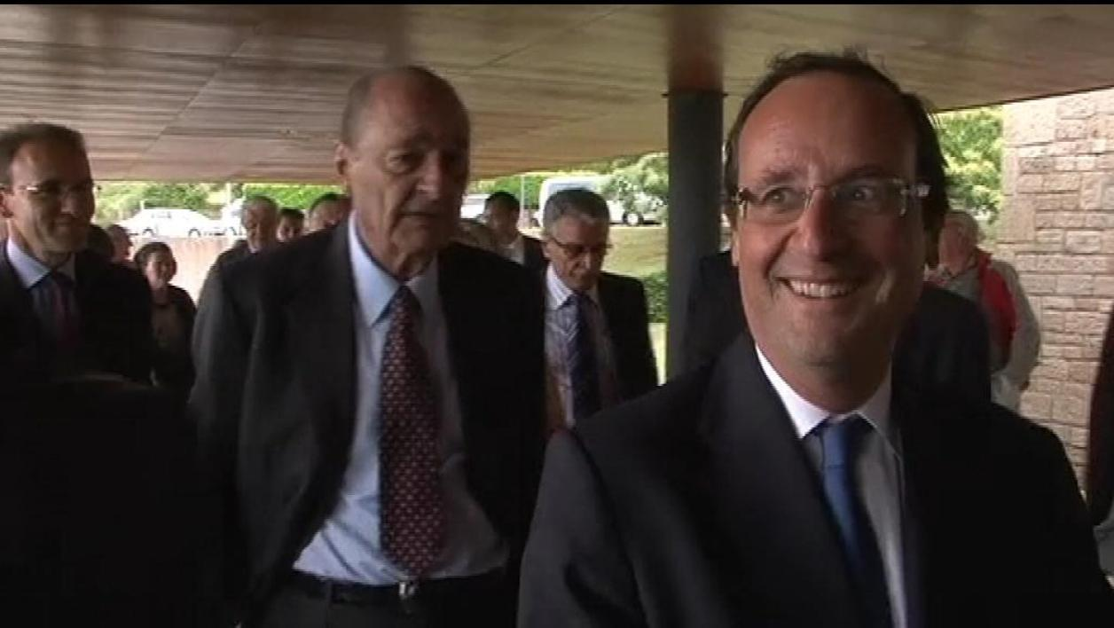 "Jacques Chirac : ""Je voterai pour F. Hollande"""
