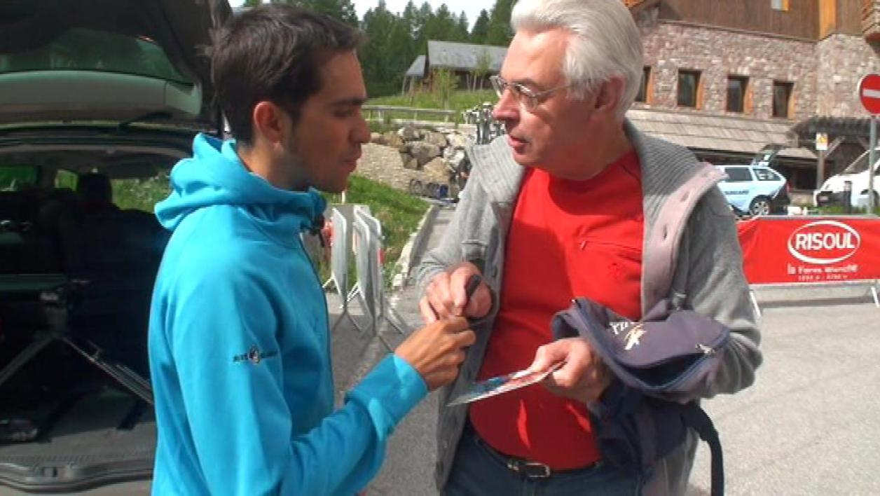 Contador sur sa participation au Tour de France