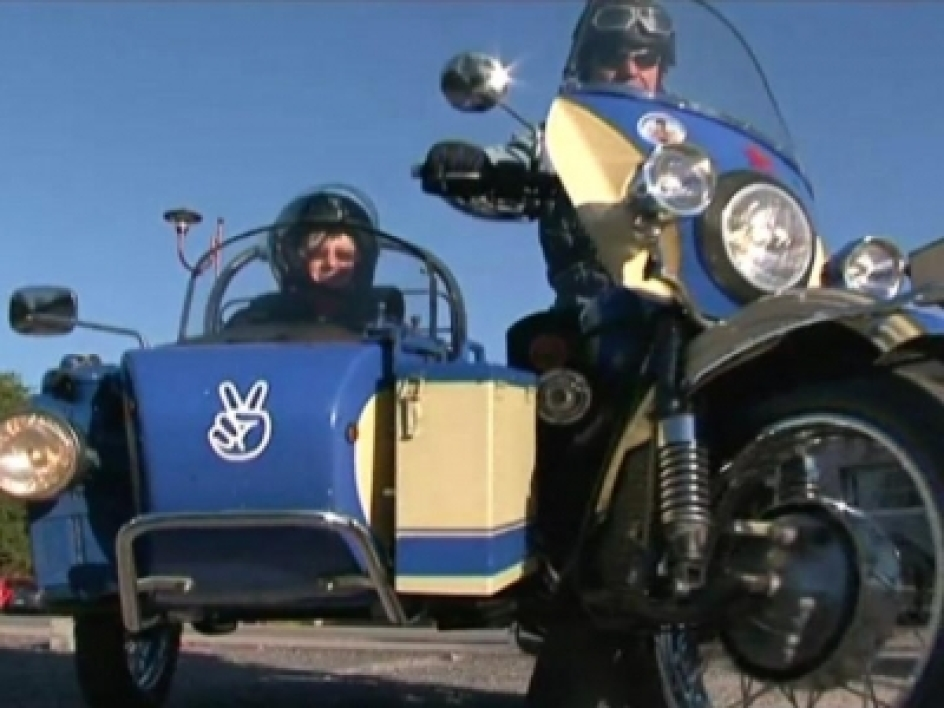 Des motards roulent contre le cancer