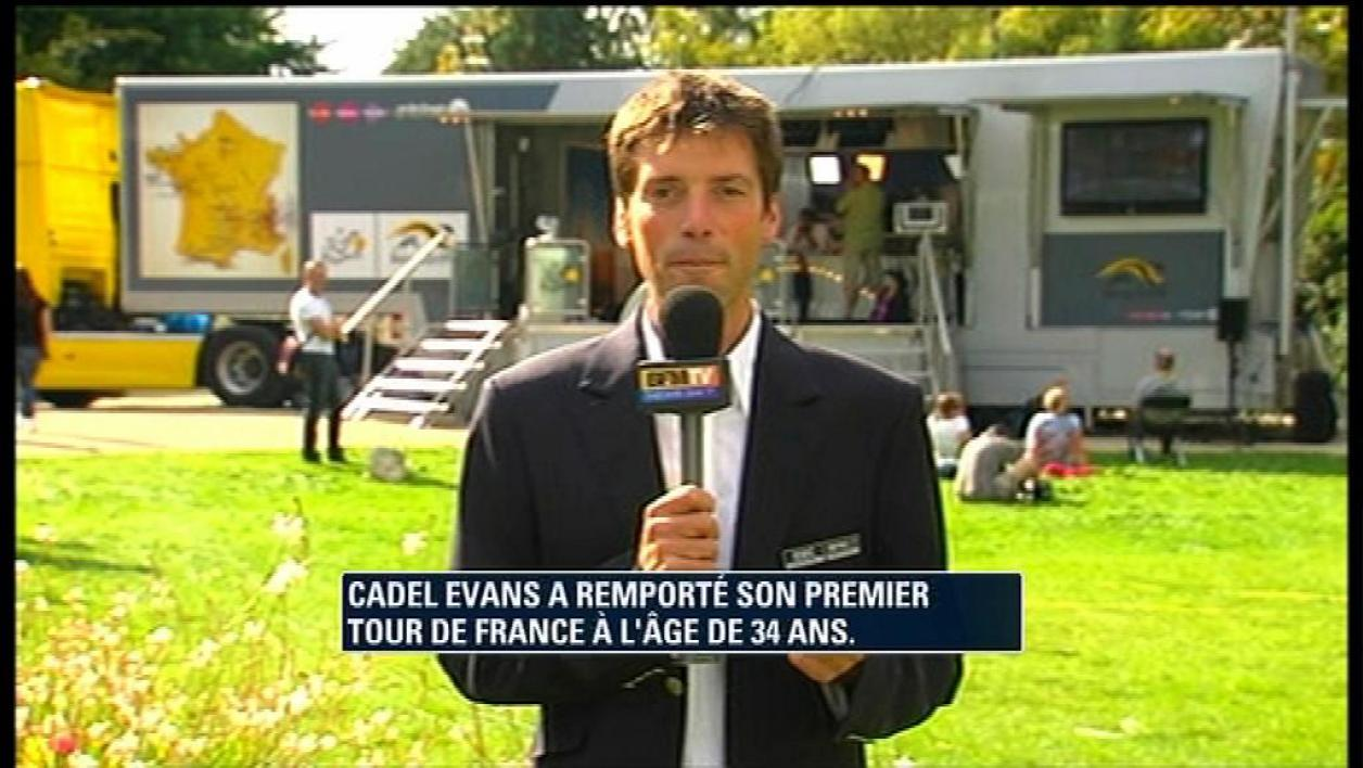 Cadel Evans remporte le Tour de France 2011