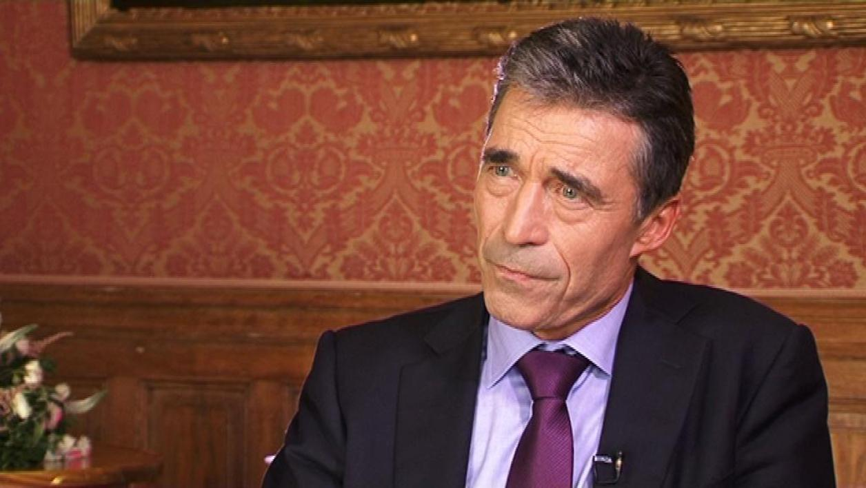 Interview d'Anders Fogh Rasmussen par BFMTV