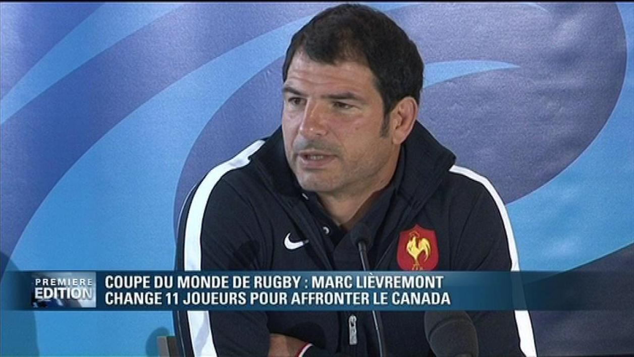 Mondial de rugby : composition du XV de France